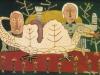 Das Drachenbild, 1958, Eitempera auf Hartfaser, 100 x 150cm