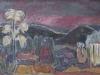 Urwaldbild, 1963, Öl auf Hartfaser, 45 x 61,5cm