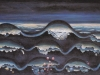 (o.Titel) Das Wellenbild, 1967, Öl auf Leinwand, 54 x 87 cm