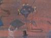 Farewell, 1985, 32 x 25,5 cm, Tempera a. Papier