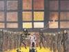 """""""Immer feste druff, 1985, 150 x 100 cm, verschiedene Materialien, Acryl"""