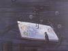 Abends wenn ich schlafen geh, vierzehn Englein an meinem Bette stehn. Blalla-Humor-Dienst, 1985, 150 x 100 cm, Acryl a. Lwd.