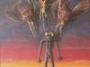 Es kotzt mich alles an. Aus: Ich, Blalla W. Hallmann Ebenbild Gottes, find alles zum Kotzen., 1985, 150 x 100 cm, Relief, Acryl, versch. Materialien