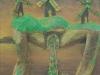 Terra und Terror und die 3 Mühlen des Herrn Doktor Klaps, 1985/86, 150 x 100 cm, Relief, Acryl, verschiedene Materialien