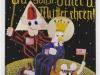 Du sollst Vater und Mutter ehren! (Filizidale Tradition), 1990, Acryl auf Glas