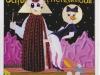 Ich bin der HERR dein Gott, 1990, Acryl auf Glas, 120 x 110 cm