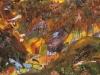 Angebrannte Maigefühle, 1987, Acryl auf Leinwand, 102 x 152 cm