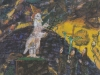 Die tibetanische Pilgerreise, 1987, Acryl auf Karton, 50 x 40 cm