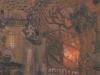 Die Stunde meiner Poltergeister, 1987, Acryl auf Leinwand, 152 x 102 cm