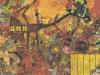 Frühe Eindrücke, 1988, Öl auf Leinwand, 110 x 150 cm