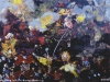 Mein Herz ist eine Rumpelkammer, 1997, Acryl auf Leinwand, 34 x 44 cm