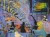 Wenn der Pornozwerg die Sau rausläßt, 1987, Acryl auf Leinwand, 150 x 110cm