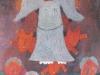 Engelbild, 1961, Öl auf Hartfaser, 93 x 56 cm