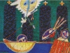 An der Rampe (Ramstein), 1989, Öl auf Leinwand 110 x 150 cm