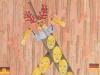 West-östliche Clownereien, 1990, Aquarell, 31 x 23 cm