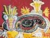 Erdkäfer, 1963, Öl auf Hartfaser, 104 x 124 cm
