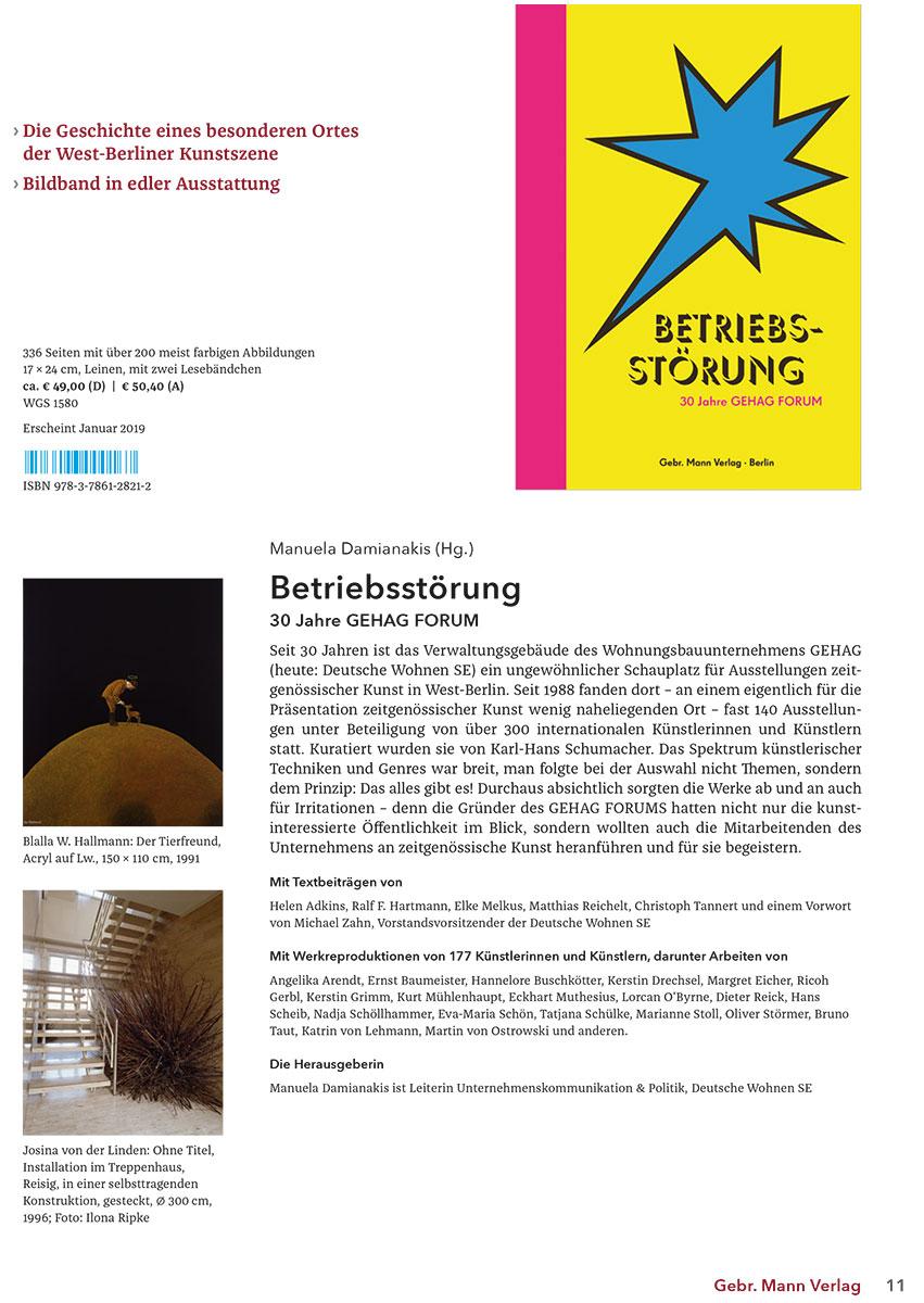 Die Geschichte eines besonderen Ortes der West-Berliner Kunstszene