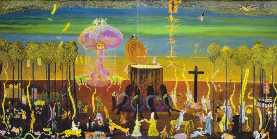1a Metzelsuppe 80r Baujahr (Die Wüste brennt), (Hölle im spätgotischen Stil), good night old Europe